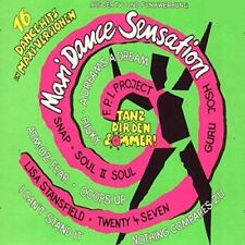 Maxi Dance Sensation 1 (1990) Snap, Fpi Project, Adamski, Lisa Stansfie.. [2 LP]