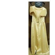 Vintage 1960 gold formal dress overlay probably worn with a cigarette pant