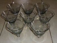 "Small Stemware Glasses 5 1/4""H  Wine/Sherry , Set of 8"