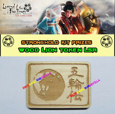 LEGEND OF THE FIVE RINGS LCG - Wood Lion Token FFG Promo Stronghold Kit