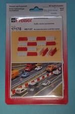 Preiser 17178 verkehrsleitblöcke Kit di costruzione HO 1:87 NUOVO