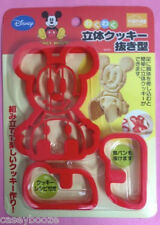 Mickey Mouse 3D Cookie Cutters Decoración Pastel Sugarcraft - - - Reino Unido Stock