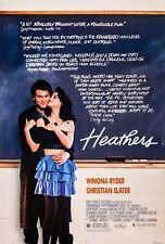 R406 Heathers Movie 1988-Print Art Silk Poster