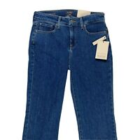 New NYDJ Marilyn Straight Lift Tuck Technology Medium Wash Jeans Size 4
