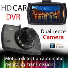 "HD 1080p Dash 2.4"" Cam Night Vision Wide Angle Car DVR  LCD Camera UK G Sensor"
