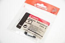 "Canon Dioptric Adjustment Lens E _ Augenkorrekturlinse E ""0"""