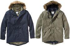 OLD NAVY Men Long Hooded Canvas Coat Jacket S,M,L,XL,2XL,3XL,MT,LT,XLT,2XLT,3XLT