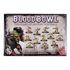 Blood Bowl 12 Mann Team Goblins The Scarcrag Snivellers (200-27)
