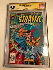 CGC 9.8 SS Doctor Strange, Sorcerer Supreme #50 signed by Geoff Isherwood