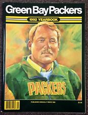 1992 NFL FOOTBALL OFFICIAL YEARBOOK GREEN BAY PACKERS *MIKE HOLMGREN* 71717