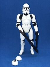 STAR WARS ROTS CLONE TROOPER QUICK DRAW ATTACK! LOOSE COMPLETE