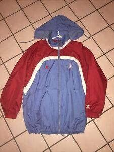 RARE Vintage Houston Oilers Starter Jacket Mens Large NFL Pro Line Titans
