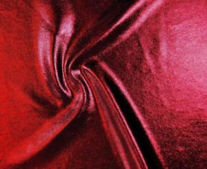 DARK RED SPARKLE LYCRA 50cm