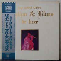 V.A. RHYTHM & BLUES DE LUXE ATLANTIC P-10005A Japan OBI VINYL LP
