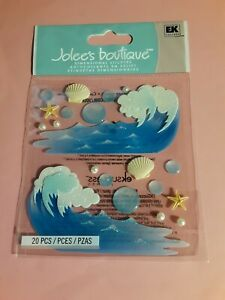 Jolee's Boutique waves 3D sticker pkg(free ship $20 min US ONLY