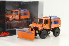 Mercedes-Benz Unimog U 1600 Winter Road Maintenance 1:3 2 Schuco 1 Gauge Diecast