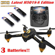 Hubsan H501S Quadcopter 5.8G FPV Brushless 1080P Headless GPS Drone,SS Edition