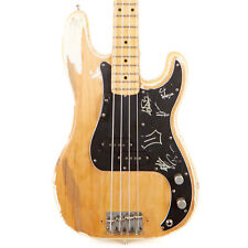 Vintage Fender Precision Bass Olympic White/Natural 1973