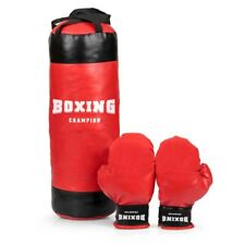 Kids Boxing Bag Set Large 53cm Punch Bag Kit Boxing Set + Gloves