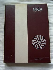 1969 ALBANY HIGH SCHOOL YEARBOOK ALBANY, NEW YORK  GARNET AND GRAY