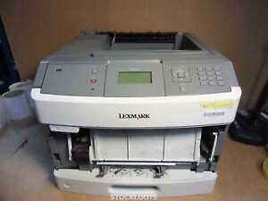Lexmark T650N A4 Mono Laser Printer NETWORK USB - NO POWER / MISSING COVER