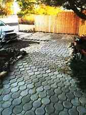 16 Keyhole concrete driveway paver molds make 100s of pavers. USA Made Fast Ship