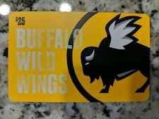 Buffalo Wild Wings $25 Gift Card! Free Shipping!