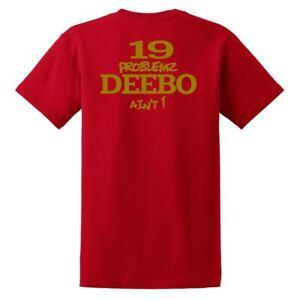Deebo Samuel 19 Problemz San Francisco Forty Niners Shirt Brand New