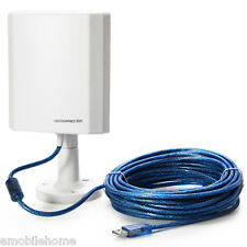 LeGuang LG-N120 150Mbps USB 2.4G Wifi Wireless Adapter+Antenna 10m Cable
