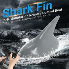 FLYTEC 2.4G Remote Control Simulation Shark Fin Head Electric Fish RC Boat Prank