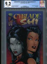 Cyblade/Shi #1 (1st Sara Pezzini) Cgc 9.2 Wp
