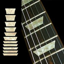 Fretboard Markers Inlay Stickers Decals Guitars &amp Bass - Dish Trapezoids Les