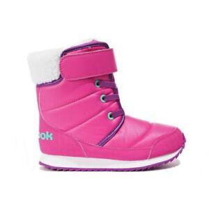 Reebok Classic Snow Prime Boots Sizes 10.5-6.5 Pink RRP £45 BNIB BS7779