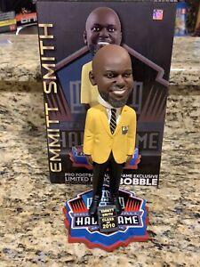 Emmitt Smith Pro Football Hall Of Fame Gold Jacket Bobblehead #16 New