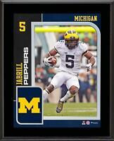 "Jabrill Peppers Michigan Wolverines 10.5"" x 13"" Player Plaque - Fanatics"
