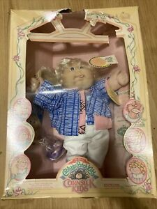 Vintage 1986 Cabbage Patch Kids • Cornsilk Kids Doll • In The Box
