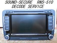 DECODE RNS510 RNS-510 navigation UNLOCK VW SEAT SKODA