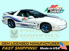 1999 Trans Am 30th Anniversary WS6 DAYTONA 500 Pace Car ULTIMATE Decals Stripes