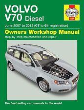 Manuale Haynes Volvo V70 Diesel JUN 2007-2012 NUOVO (5557)