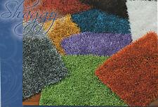 Tappeto Moderno Shaggy 60x110 Vari colori entra e scegli Avorio Nero Sabbia Oro