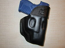 XDS 3.3 45 cal. & XDS 3.3  9 mm formed leather,owb belt holster