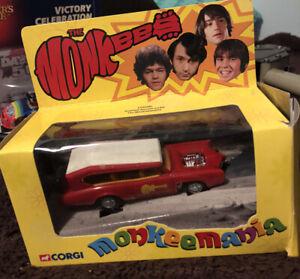 THE 1966  MONKEES DIECAST CAR THE MONKEEMOBILE MODEL CC52405 New From 2001