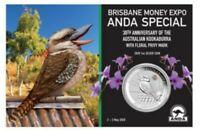 Australien 1 Dollar 2020 Kookaburra Privy Mark Cooktown-Orchidee 1 Oz Silber ST