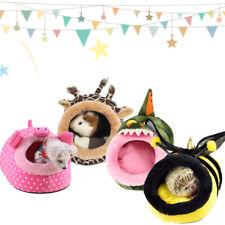 Small Animasl Hamster Nest Bed Hammock Rat Hedgehog Squirrel House Pad Fo Gift