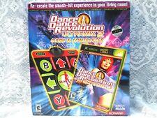 Dance Dance Revolution Ultramix 2 Bundle (Microsoft Xbox, 2004) Konami New