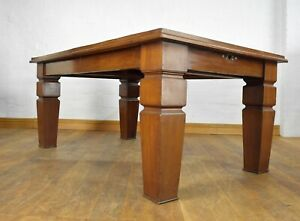 Antique 10 seater wind out extending dining table / kitchen table