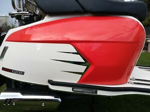 ROYAL ALLOY GP 125 200 300 CHROME SIDE FLASHES STICKER DECALS GRAPHICS