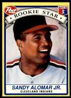1991 POST COLLECTOR SERIES ODDBALL SANDY ALOMAR JR. CLEVELAND INDIANS #6 OF 30