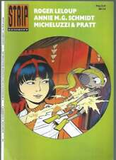 REVUE STRIPSCHRIFT N°246 . NÉERLANDAIS . YOKO TSUNO / PRATT . 1991 .