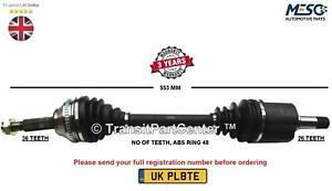 VOLVO XC70 CROSS COUNTRY 2.4 2.5 T D5 XC AWD 2000-2007 FRONT LEFT DRIVESHAFT